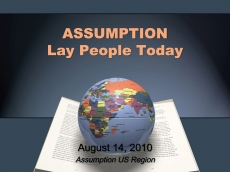 Assumption Lay People Presentation