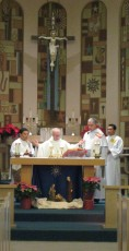 Mass on the second day