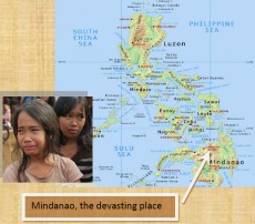 A cry for help for the victims of Mindanao.