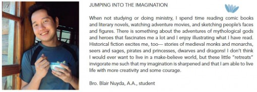 JUMPING INTO THE IMAGINATION