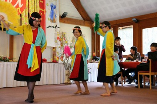 Young Vietnamese of the Assumption Family gather to celebrate the New Year