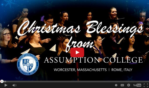 Christmas and d'Alzon message from Assumption College