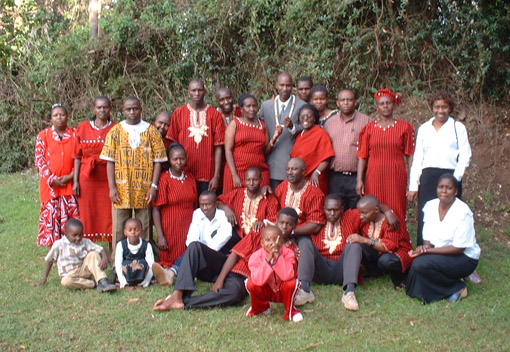 Final Profession of Brother Simon NJUGUNA and Brother Germain SALAMU, Nairobi (Kenya)